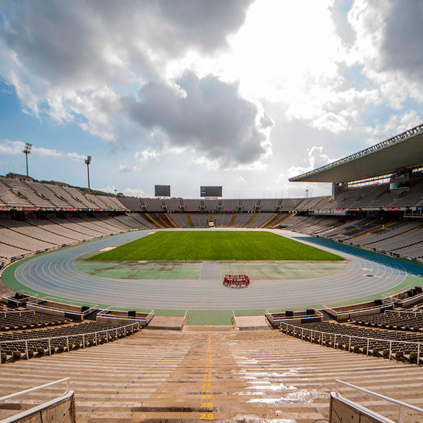 Estadi Olímpic – Pitch and Tribunes